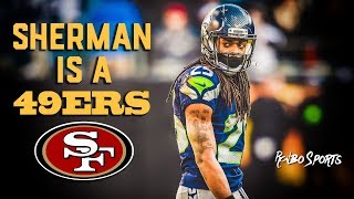 Live! 49ers Fans Reaction To Former Seahawks CB Richard Sherman Signs With The 49ers
