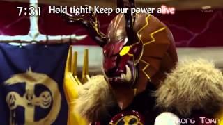 Могучие Рейнджеры Дино Заряд(Третья Заставка)