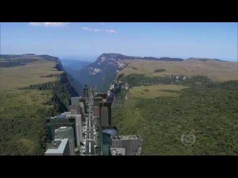 Globo Reporter parte 1 Aparados da Serra/Cambará do Sul www.genaroturismo.com.br