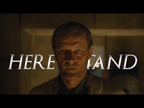 (GoT) Jorah Mormont || Here i stand