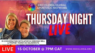 Thursday Night Live E14 - With Deborah & Marietjie (15 Oct 2020)