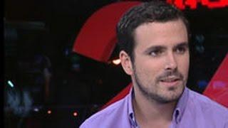 """Entrevista a Alberto Garzón en """"La Noche en 24 Horas"""" (Canal 24 Horas 02.10.2014)"""
