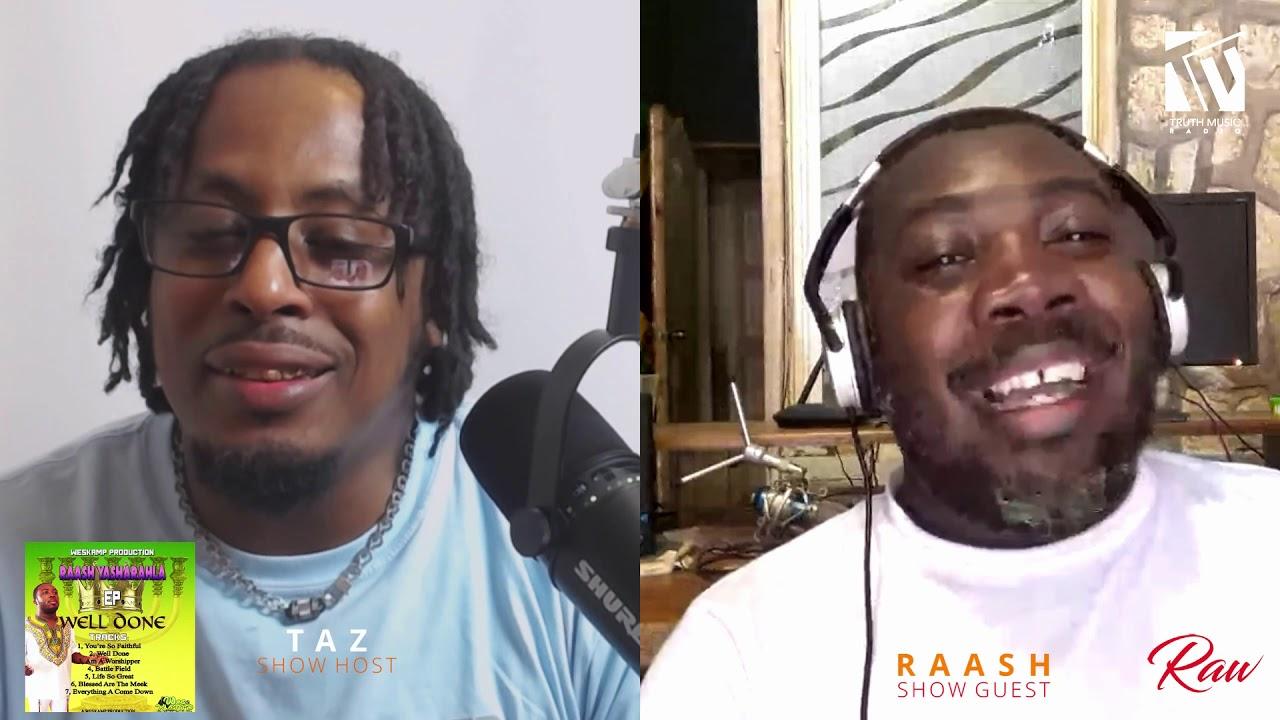 Taz talks with Raash Yasharahla | Raw Talent