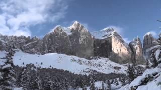 Ciaspolate valle del Vajolet e val Duron