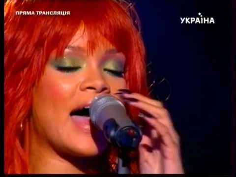 Rihanna Performing ''Love The way you Lie Part 2'' at Shakhtar Donetsk 75th Anniversary
