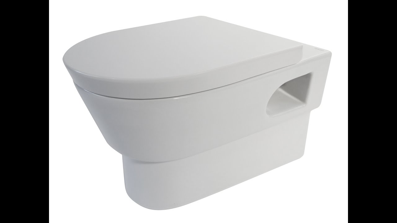 EAGO WD332 Modern Wall Mounted One Piece Toilet