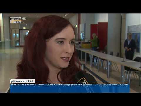 Agnieszka Brugger zu den Koalitionsverhandlungen mit CDU und FDP am 26.09.17