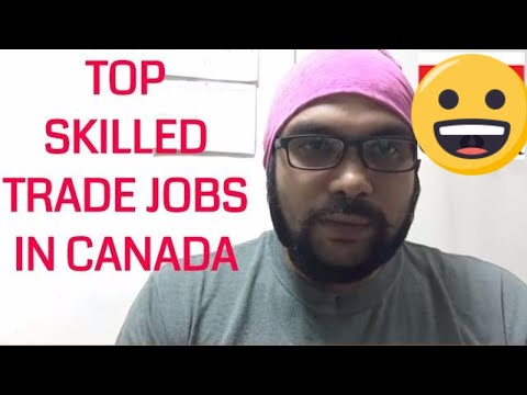 Top In Demand Skilled Trade Jobs in Canada