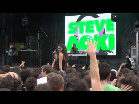 Steve Aoki_2 @ Inox Park Festival 2011