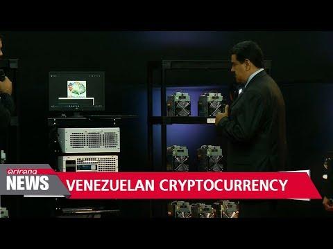 Venezuela launches oil-backed cryptocurrency to escape economic turmoil