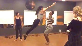 Katrina Kaif's Dance Training Video With Choreographer