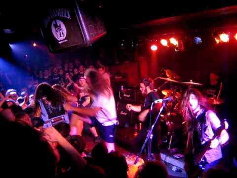Municipal Waste Live in Greece at An Club 02 09 2009 Headbanger Face Rip