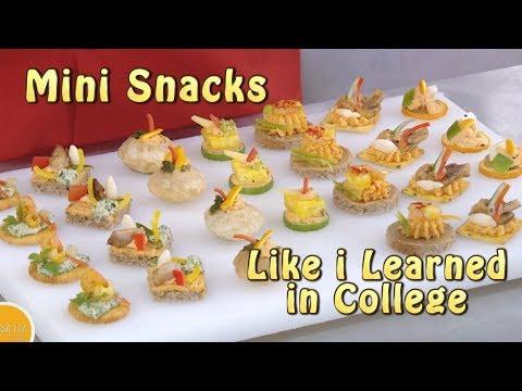 Decorative - Mini Snacks - Canapes