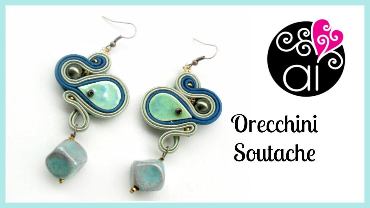 stili di grande varietà seleziona per originale disegni attraenti Soutache   Sutasz   Orecchini   In collaborazione con Perla di Ceramica