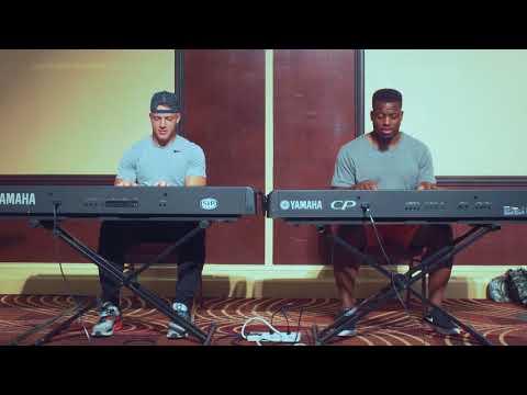 Jonathan Stewart & Christian McCaffrey in the Music City