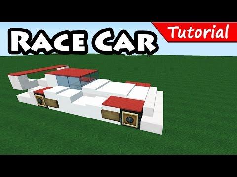 minecraft easy sport race car tutorial bugatti vey. Black Bedroom Furniture Sets. Home Design Ideas