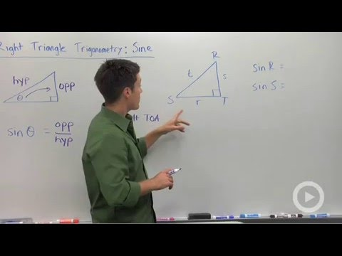 Trigonometric Ratios: Sine