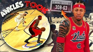 Their RECORD COULDN'T SAVE THEM / DIRTIEST Ankle Breaker EVER! - NBA 2K18 PS4 Pro