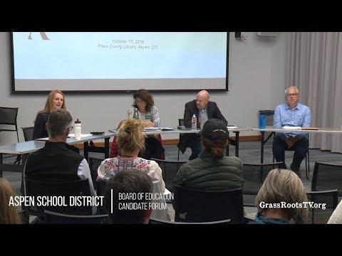 Aspen School District presents: Board of Education Candidate Forum