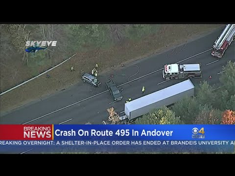 Serious Injuries Reported After Andover Crash