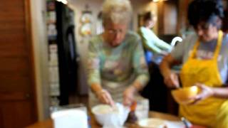 How To Make A Coffee Cake-by Oma Ilona(ilona's Kitchen) Part 1