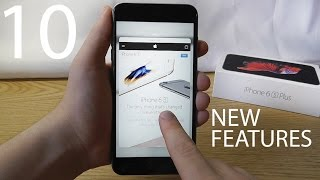 Top 10 iPhone 6S New Features!