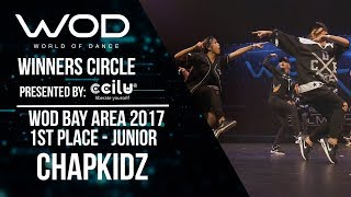 ChapKidz   1st Place Junior Division   Winners Circle   World of Dance Bay Area 2017   #WODBAY17