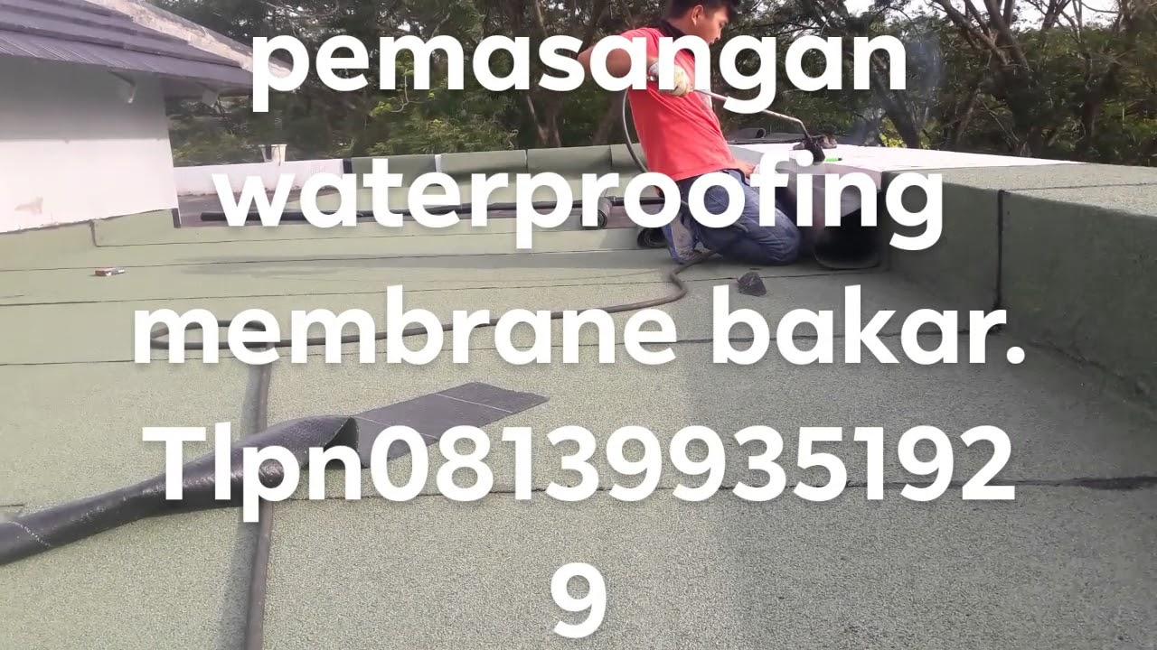 Jasa Kontraktor Waterproofing Membrane Bakar