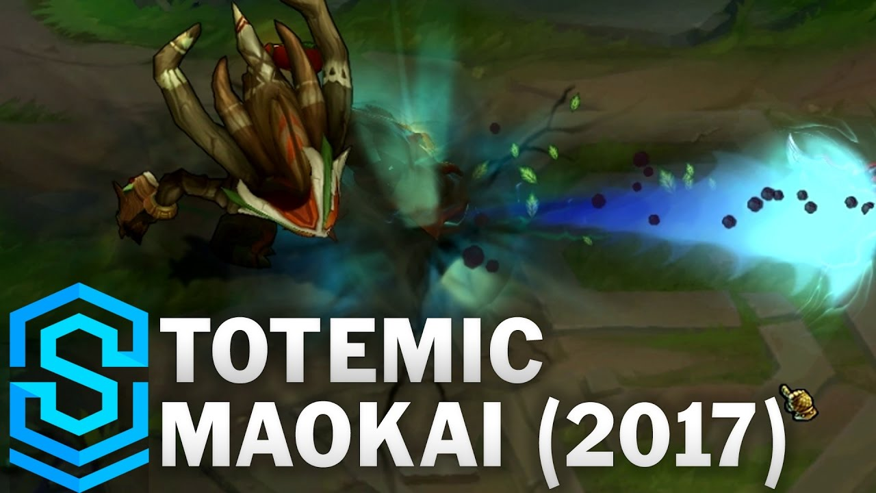 Totemic Maokai (2017) Skin Spotlight - League of Legends ...