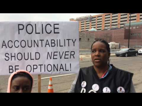 Mothers of children killed by police protest in Detroit