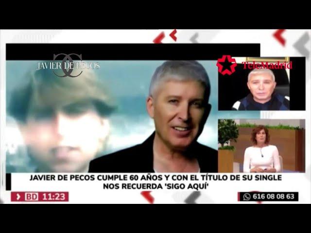 Javier de Pecos - Entrevista en TeleMadrid 05/11/2020