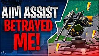 AIM ASSIST BETRAYED ME! Feat. Ghost Aydan (Fortnite Battle Royale)