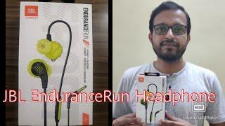JBL Endurance Run Headphone Review Midrange Noise cancelation Wired sports earphone JBL Earphone