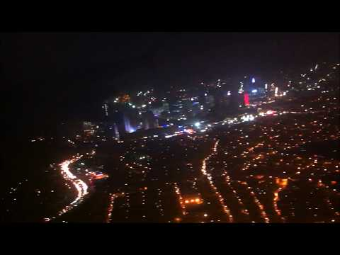 Night Landing AT Manila | Manila, Philippines