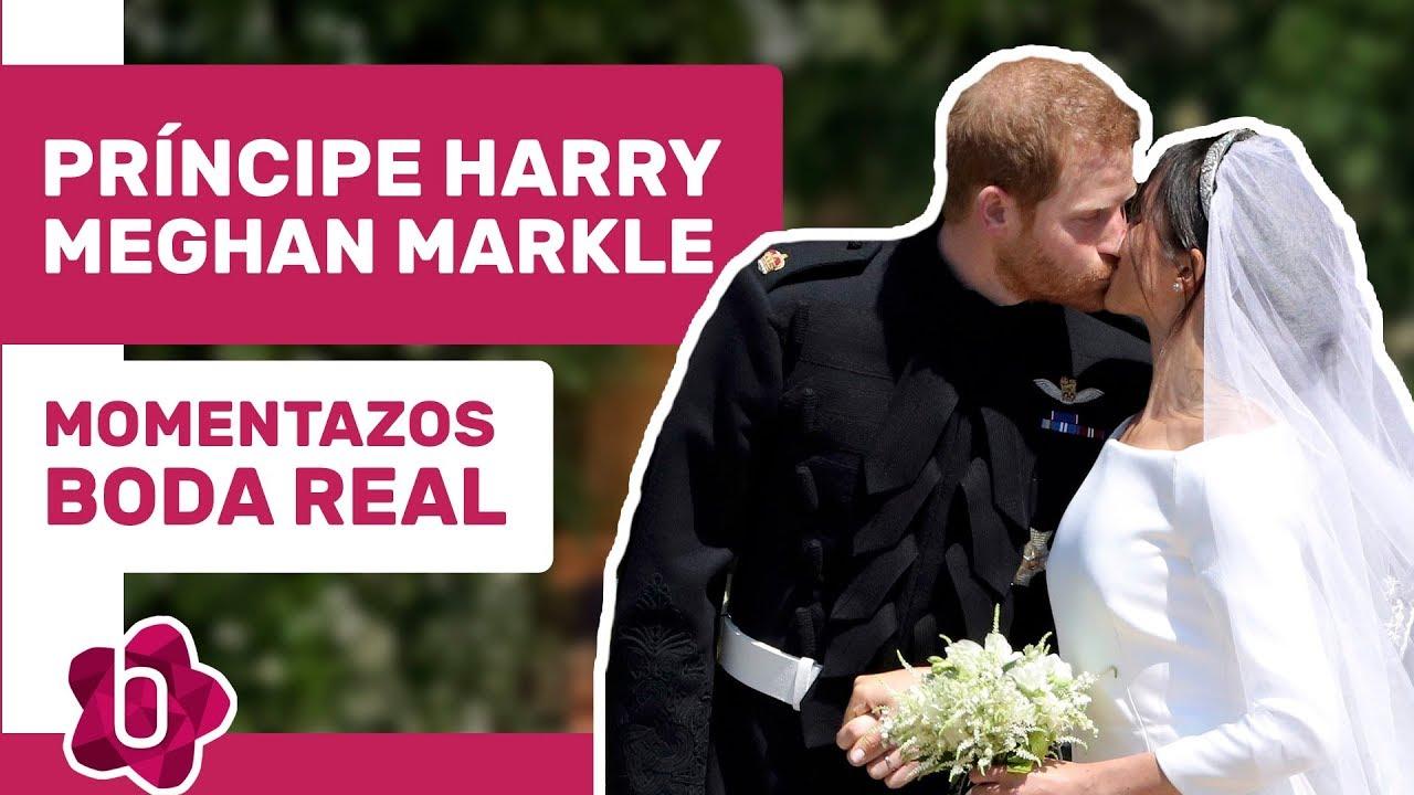Mejores momentos de la boda del Príncipe Harry y Meghan Markle