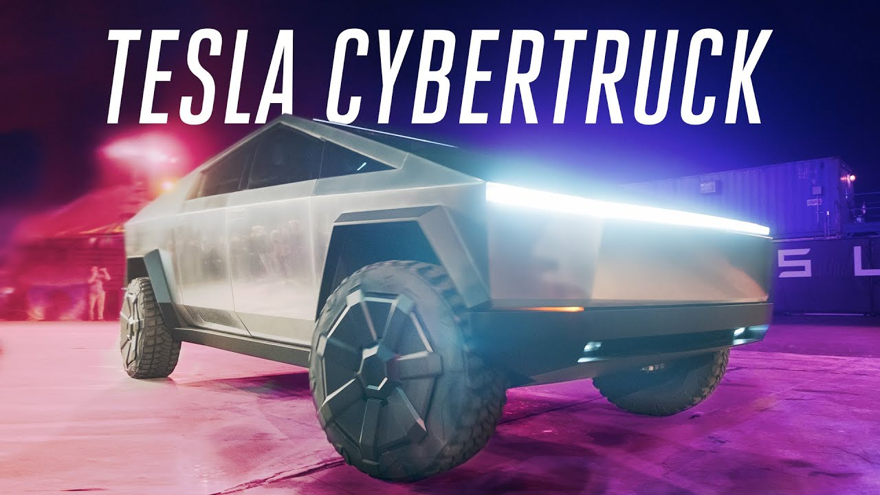 Tesla Tour 2020.Tesla Cybertruck First Ride Inside The Electric Pickup