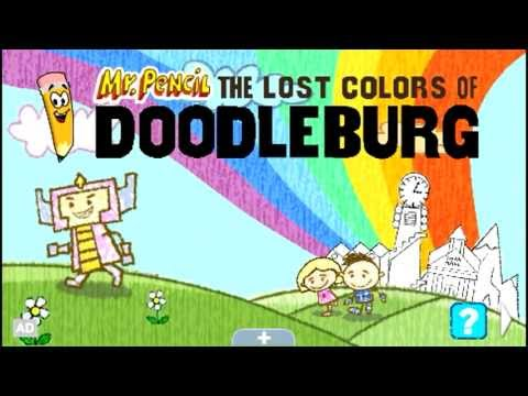 LeapFrog LeapPad Ultra eBook Trailer - Mr. Pencil: The Lost Colors of Doodleburg