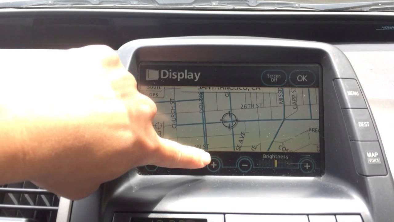 2014 2008 Prius Mfd Gps Screen Not Working Youtube