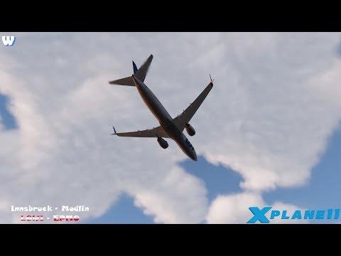 X-Plane 11 / VATSIM / LOWI - EPMO (RYANAIR) / ZIbo 738 & RG mod