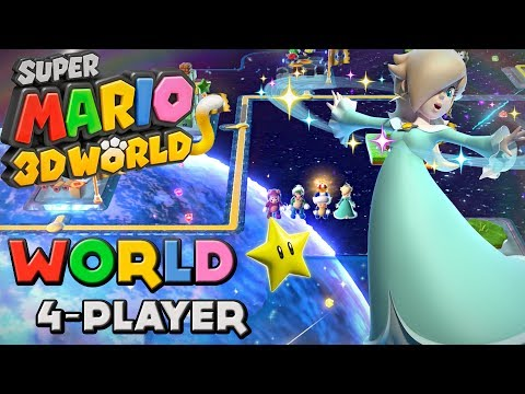 Super Mario 3D World 100% Walkthrough