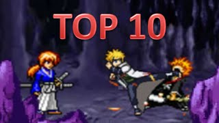 Bleach vs Naruto 2.2 - Top 10 Hyper Combos Ft  Minato and Anonymous