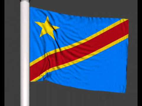 drapeau de la republique democratique du congo