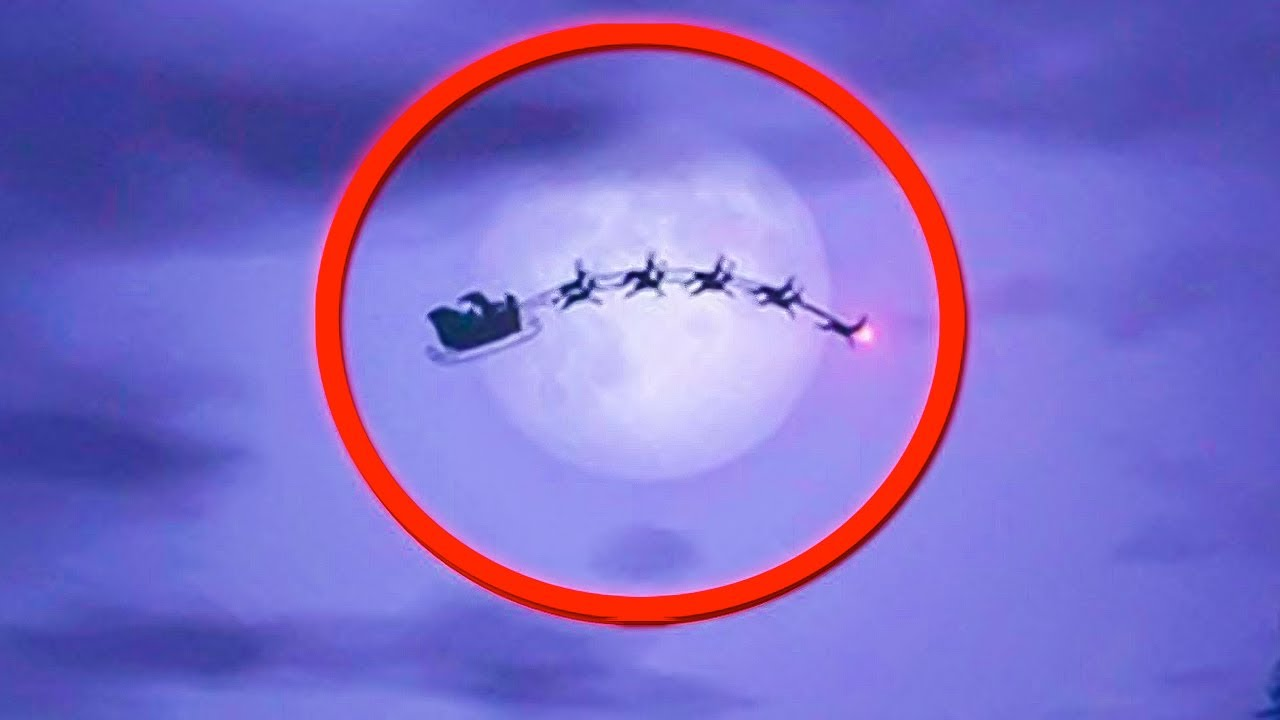 10 Santa Claus Sightings On Camera