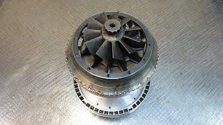 Сопловой аппарат - постройка самодельного реактивного двигателя ТРД