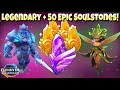 Might and Magic: Elemental Guardians - 1 Legendary and 50 Epic Soulstones Opened!