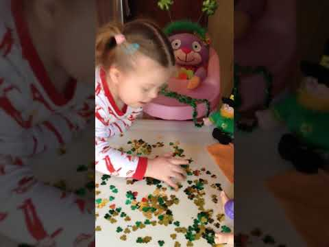St Patrick's Day Leprechaun Shenanigans 2016 With Stasyia's Story - Down syndrome