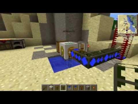 Minecraft BuildCraft. Водопроводные трубы и помпа.