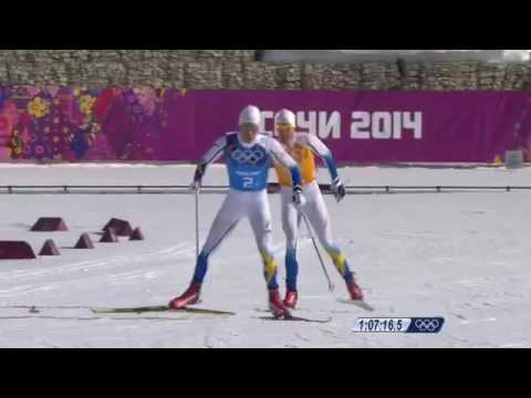 Tillbakablickar - OS stafett guld 2014