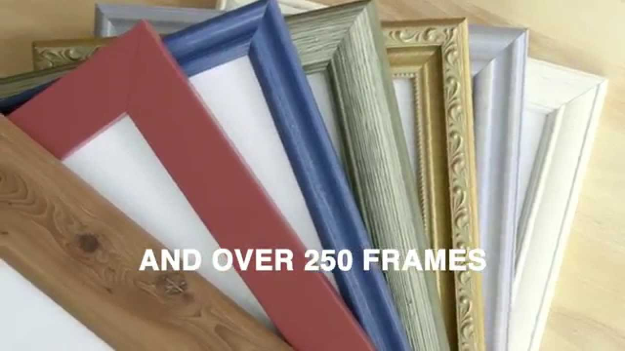 How To Choose a Picture Frame : Frames that match your decor and ...