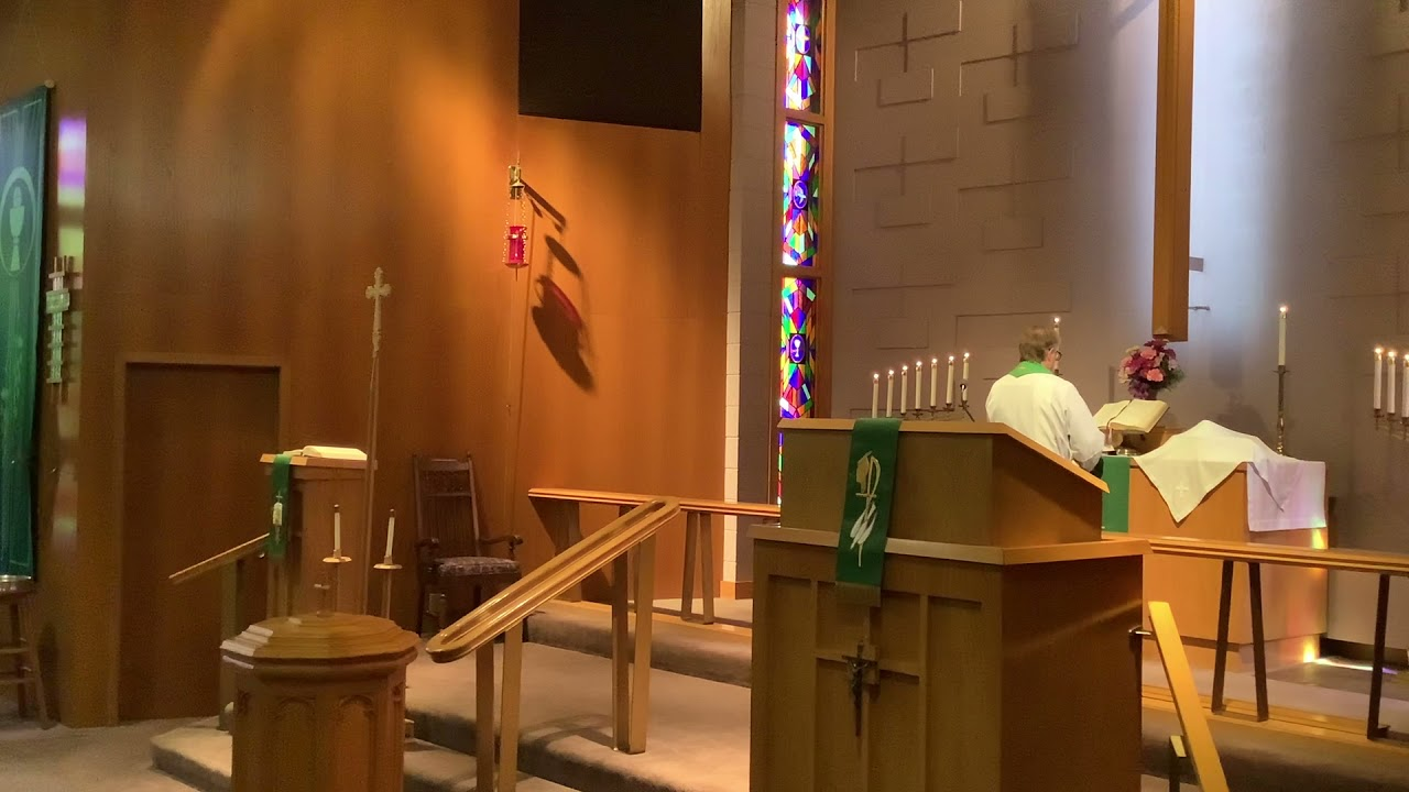 20th Sunday after Pentecost, Good Shepherd Lutheran Church, LC-MS, Two Rivers, WI, Rev William Kilps